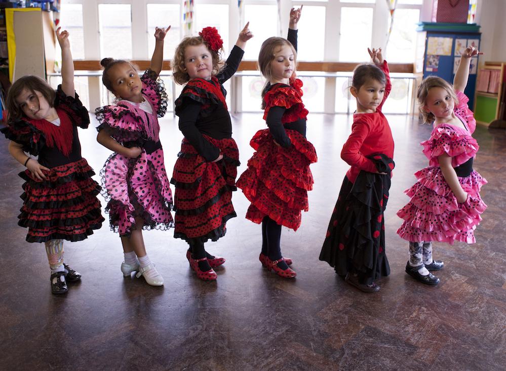clases de flamenco para niños